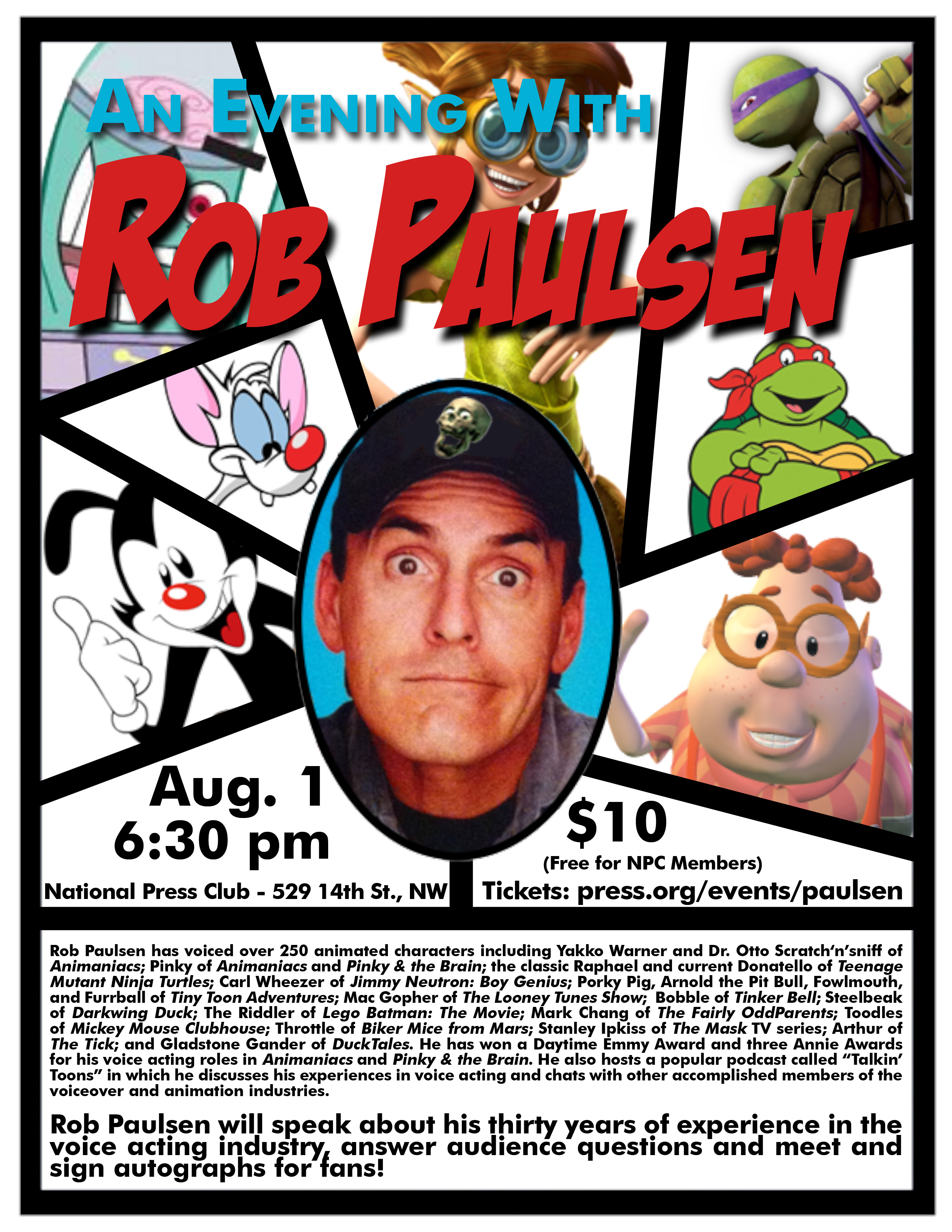 rob paulsen facebook
